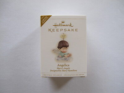 2006 Hallmark ANGELICA Ornament MARYS ANGELS Repaint of 1st in Series Buttercup