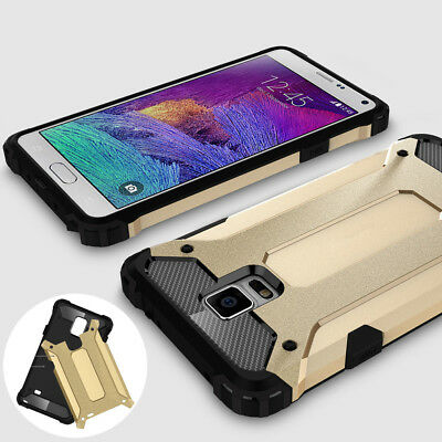 For Samsung Galaxy Note 4, Rugged Hybrid Armor Shockproof Protective Cover Case