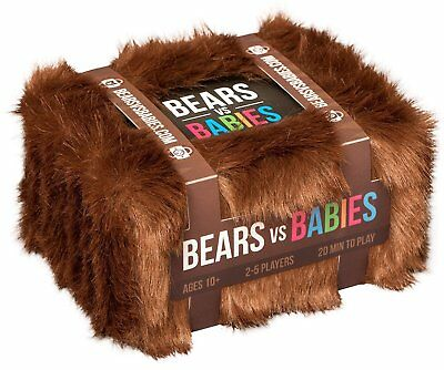 Bears vs Babies Board Game Cards Playing Cards for Family Friend Party Colleague
