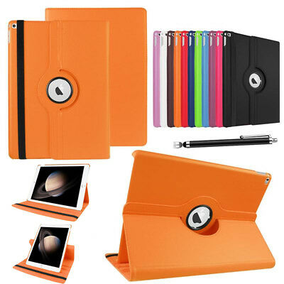 360°Rotating PU Leather Smart Shockproof Stand Case Cover For Apple iPad Tablets