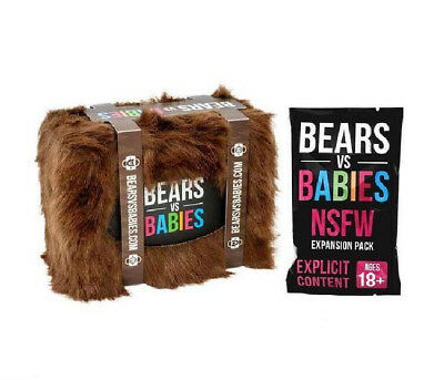 Bears vs Babies + Expansion Board Game Cards Playing Cards
