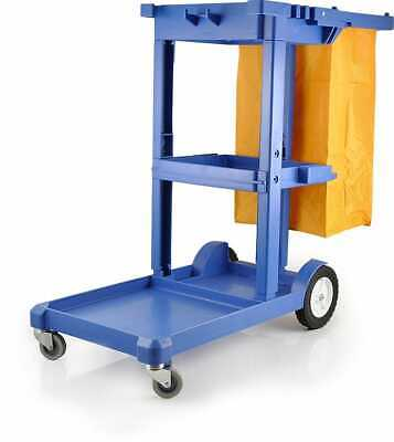 Pullman Multifunction Cleaning Trolley Cart For Commercial Cleaners