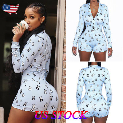 Women Fashion Summer Playsuit Bodycon Party Jumpsuit Romper Trousers Shorts Blue