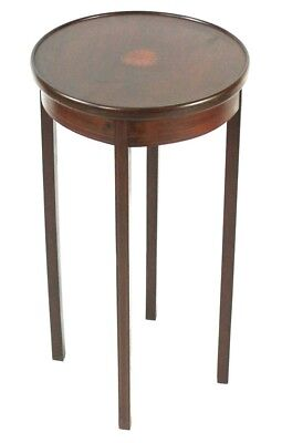 Antique Edwardian Inlaid Mahogany Plant Stand - FREE Shipping [PL4678]