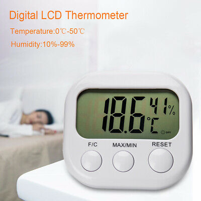 2019 Mini Digital Thermometer Humidity Meter Room Temperature Indoor LCD Hygro