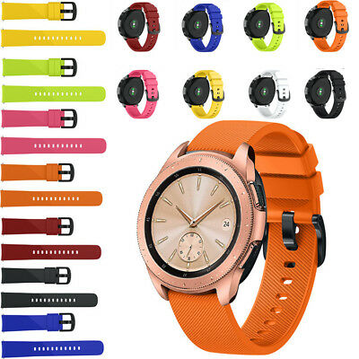 Replacement Soft Silicone Wristband Band Strap For Samsung Galaxy Watch 42mm UK