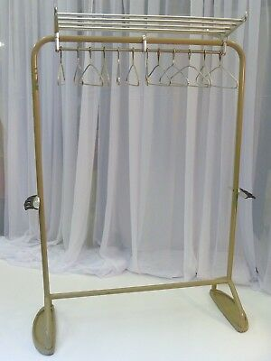 Mid Century Clothing, Cloakroom rack.Bamford and Co Ltd