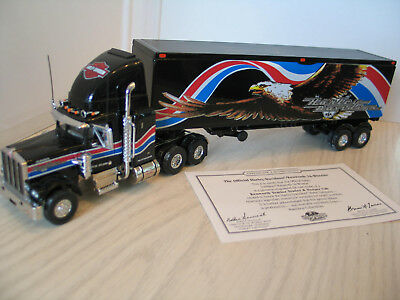 MATCHBOX COLLECTIBLES 1:58 KS188/SA Kenworth Harley Davidson - mit ...