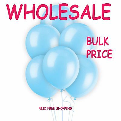 "WHOLESALE 10"" BALLOONS 5000 Latex BULK PRICE JOBLOT ANY Occasion BALLOONS"