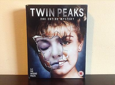 Twin Peaks The Entire Mystery - the Complete Series with Fire Walk with me *NEW*