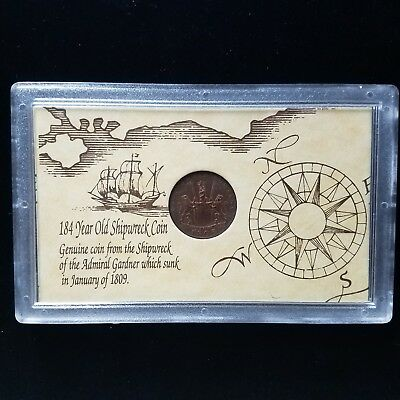 1808 East India Company Old Shipwreck Coin (otb0022)