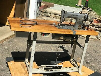 VINTAGE SINGER INDUSTRIAL Sewing Machine Model 40K40 With Manual Inspiration Singer Industrial Sewing Machine Manuals Free