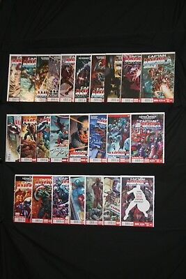 Captain America (2013)  1-25 complete 7th series -- Remender