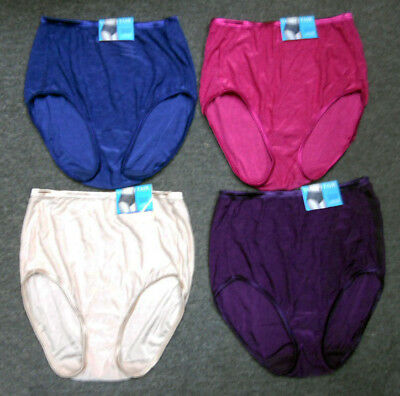 4 pack VANITY FAIR Brief ILLUMINATION 13109 Panty Assorted Mix COLORS 10 / 3xl