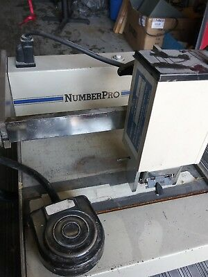 COUNT Number PRO  NUMBERING MACHINE, 1 HEAD