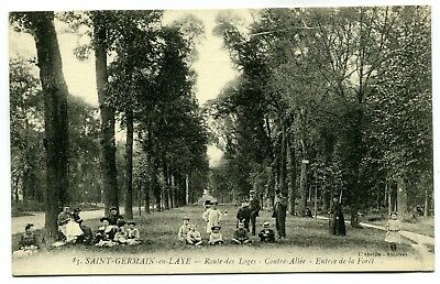 CPA - Carte Postale - France - Saint Germain en Laye - Route des Loges (CP5217)