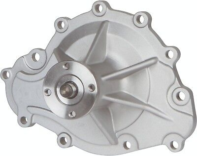 PRW 1445500 High-Perf Aluminum As-Cast Water Pump For 1969-1979 Pontiac 265-455