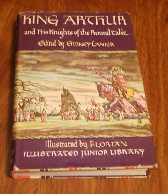 King Arthur And His Knights Of The Round Table 1950 Illustrated Junior League