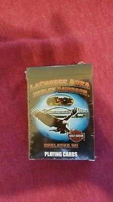 Harley Davidson LaCrosse Collector Playing Cards