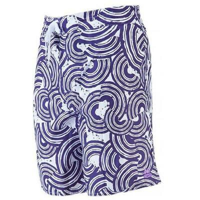New Nike Mens AOP Board Shorts Sz 2XL Purple swim surf holiday beach