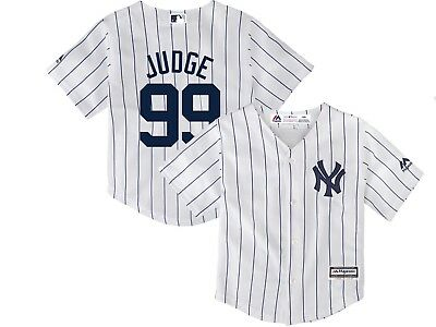 NEW Aaron Judge New York Yankees Majestic Youth Size MLB Jersey