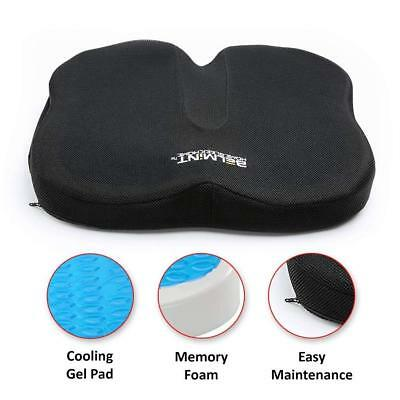 Coccyx Orthopedic Memory Foam Seat Cushion Gel Pillow Pain Relief Chair Support