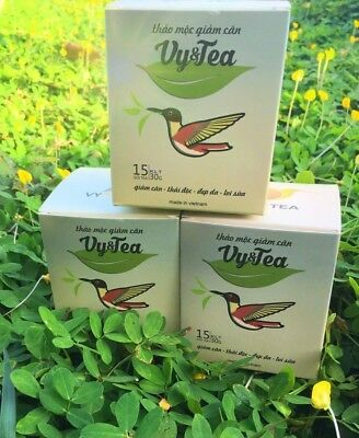 3 boxes of Vy & Tea Herbal Slimming Tea., lose weight /Tra Thao Moc Giam Can.