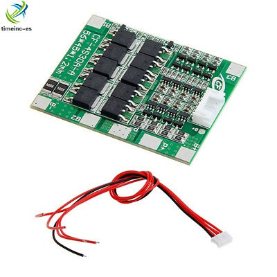 14.8V 4S 30A  Li-ion Lithium 18650 Battery BMS PCB Protection Board Cell Balance