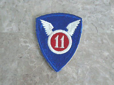 Ww2 U.s Army 11Th Airborne Division Patch  (No Glow)