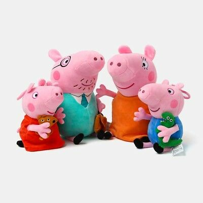 Peppa Pig Full Family Peppa George Daddy & Mummy Plush Soft Toys for BFF Gifts
