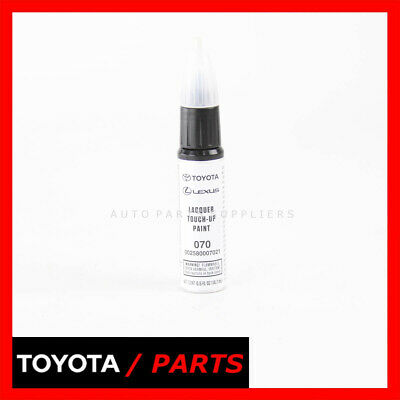 Genuine Toyota White Pearl Touch-Up Paint Pen 00258-00070-21  Code 070 Oem