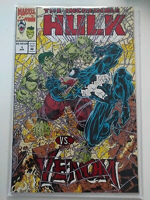The Incredible Hulk Vs. Venom #1 Marvel Comics  VF NM