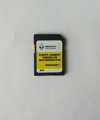 Renault Carminat TomTom Live Europe 10.05 MAP 2018/2019 SD Card LATEST NEW + UK