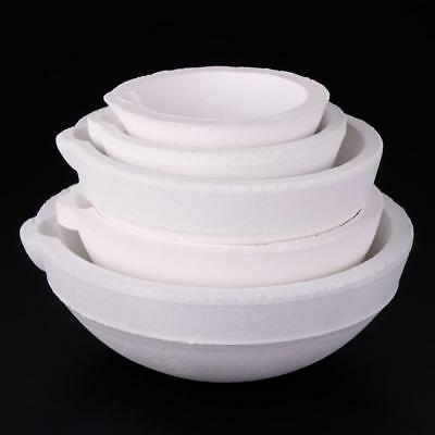 Crucibles Melting Dishes Ceramic Casting Torch Melt Jewelry #A