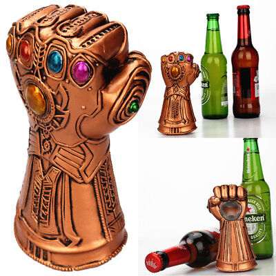 AU Creative Thanos Glove Bottle Beer Opener Soda Glass Caps Remover Open Tool