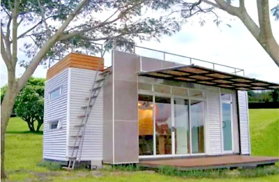 24' FT  Pre-Fab Container Modular Home-192 Sqft W/ Roofdeck   Brand New !!