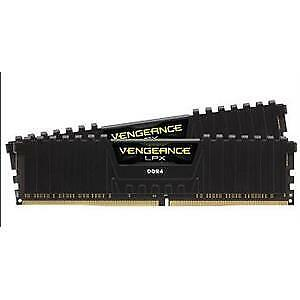 Corsair (2x8gb) Ddr4-3200 Black Cmk16gx4m2b3200