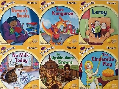 Oxford Reading Tree Level 5 Songbirds Phonics 6 Books Julia Donaldson NEW