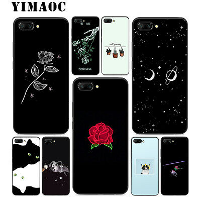 For Honor 8 Y6 Mate 10 Lite P Smart Huawei P20 Pro Case Phone Thin Soft  N2533
