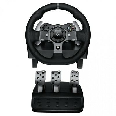 Logitech G920 Driving Force Racing Wheel For Xbox/ Pc Dual-motor Force Feedback