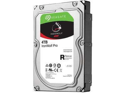 Seagate Ironwolf Pro 4tb Sata 3.5in 128mb Enterprise Nas St4000ne0025