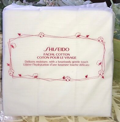 US SELLER - SHISEIDO Facial Cotton PADS - JAPAN 2 x 165/pack LUXURY 100% AUTH
