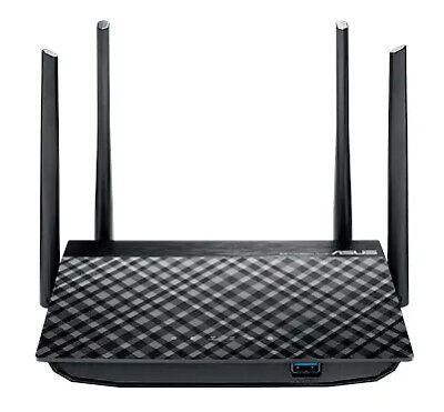 Asus Router: Ac1200 Dual-band Wireless Gigabit Router, Mu-mimo/ Usb 3.0, 4x Ante
