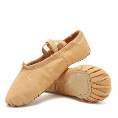 16993d45b68c CIOR Ballet Slippers Canvas Dance Shoes Gymnastics Yoga Flats Toddler/Little /Big