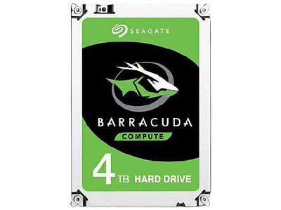 "Seagate Hdd 3.5"" Internal 6gb/s Sata 4tb Desktop Hdd (barracuda), Variable Rpm,"