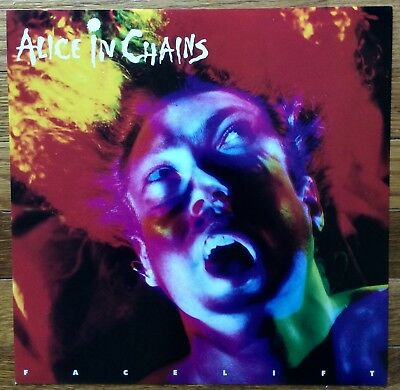 Alice In Chains Facelift RARE Original promo 12 x 12 poster flat '91