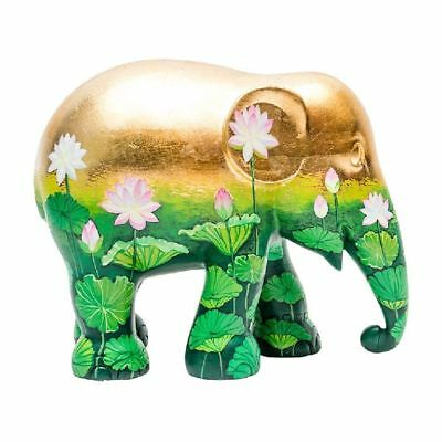 Elefant der ELEPHANT PARADE - Golden Lotus - 10cm - limitiert