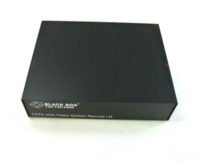 Black Box AC503A-R2 CAT5 VGA Video Splitter Remote LR T91102