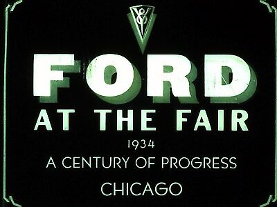 Ford at the Fair Chicago 1934 DVD of Filmstrip