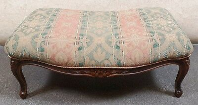 French Walnut Stool Louis Xv Style - Medallion Barker & Stonehouse